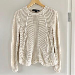 Ralph Lauren Black Label Crochet Sweater